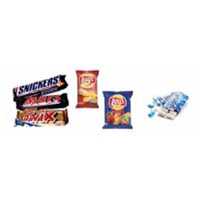 candy bars / zakken snoep